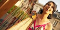 Virtuose de la harpe celtique, Clotilde Trouillaud joue ce soir à la chapelle Saint Quido.